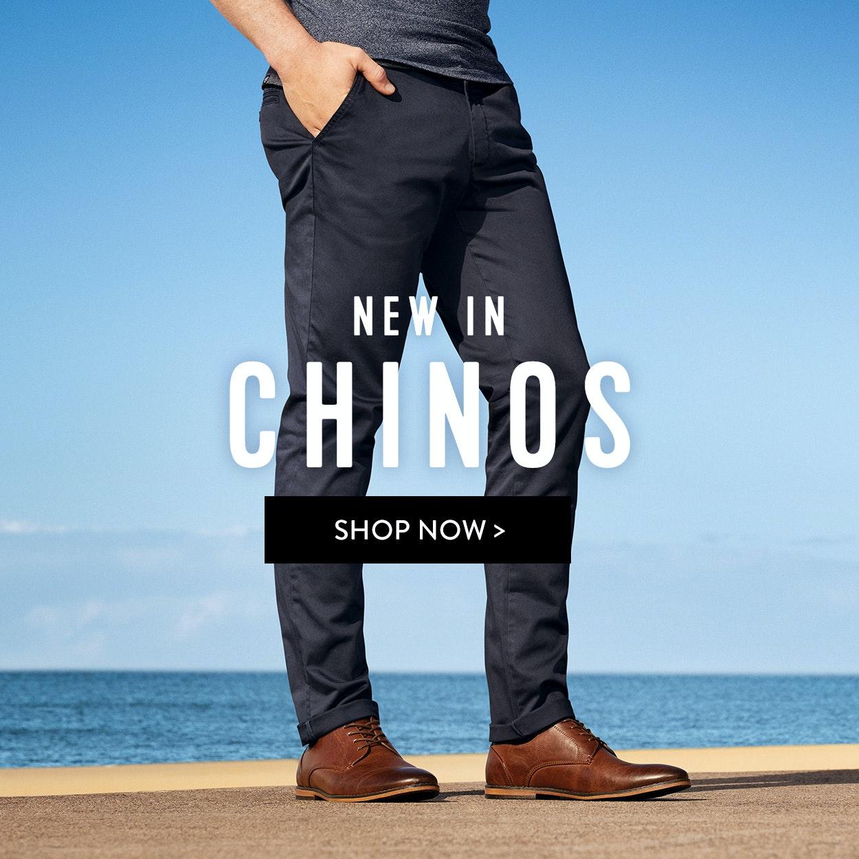 Chinos & Denim mens pants: 2 for $100