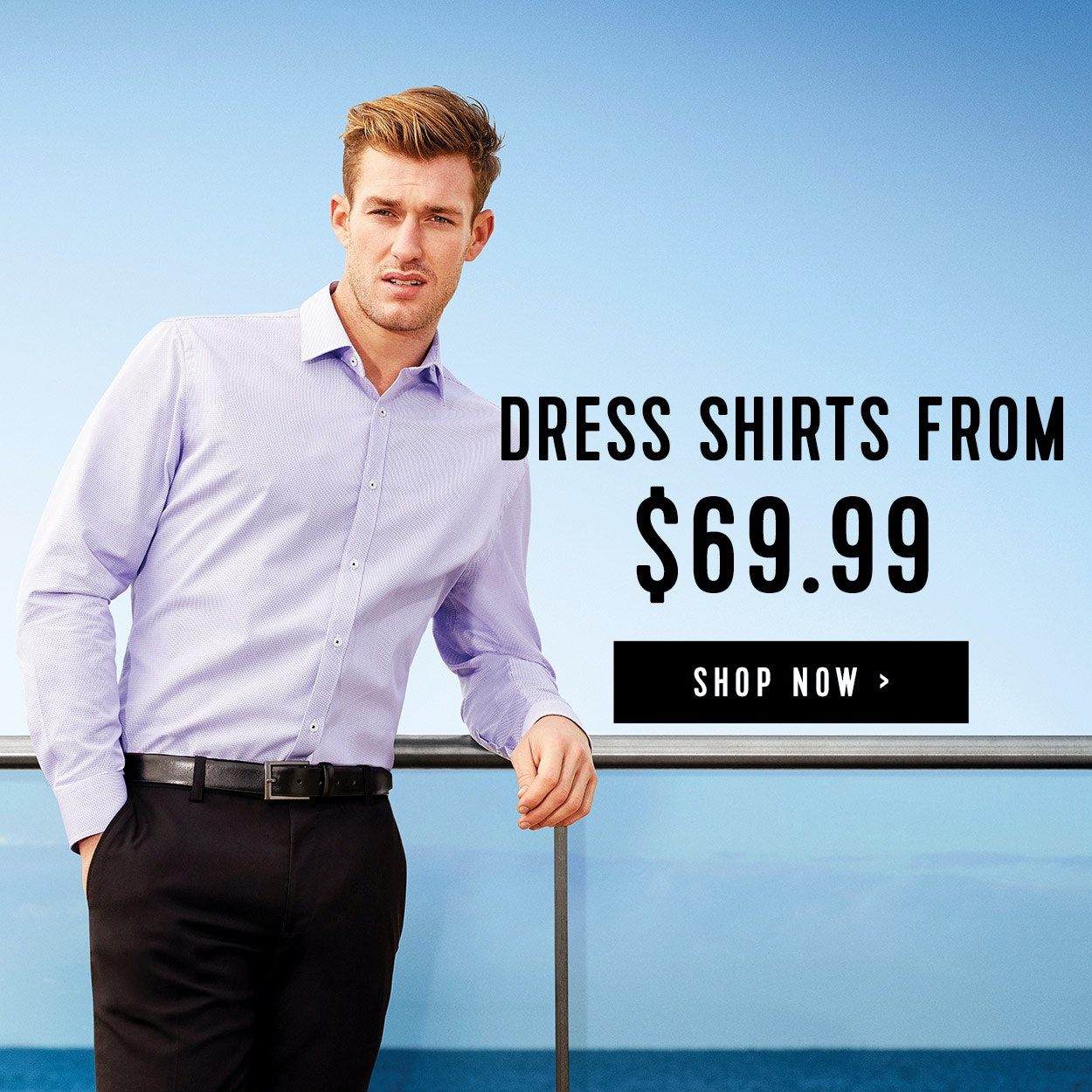 Dress Shirts from $69.99