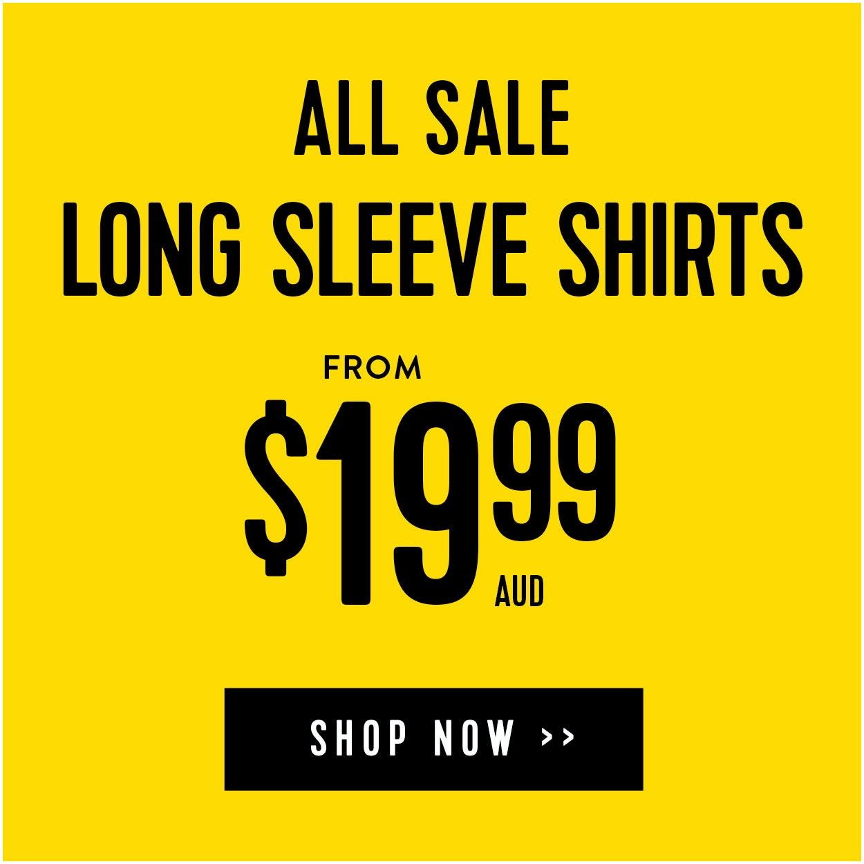 Shop Sale Long Sleeve Shirts