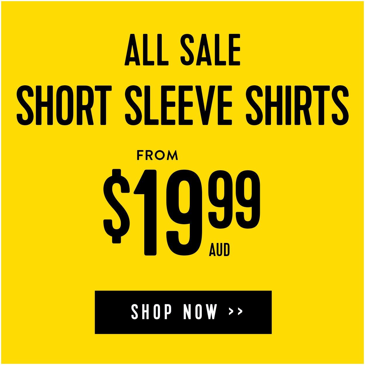 Sale Short Sleeve Shirts