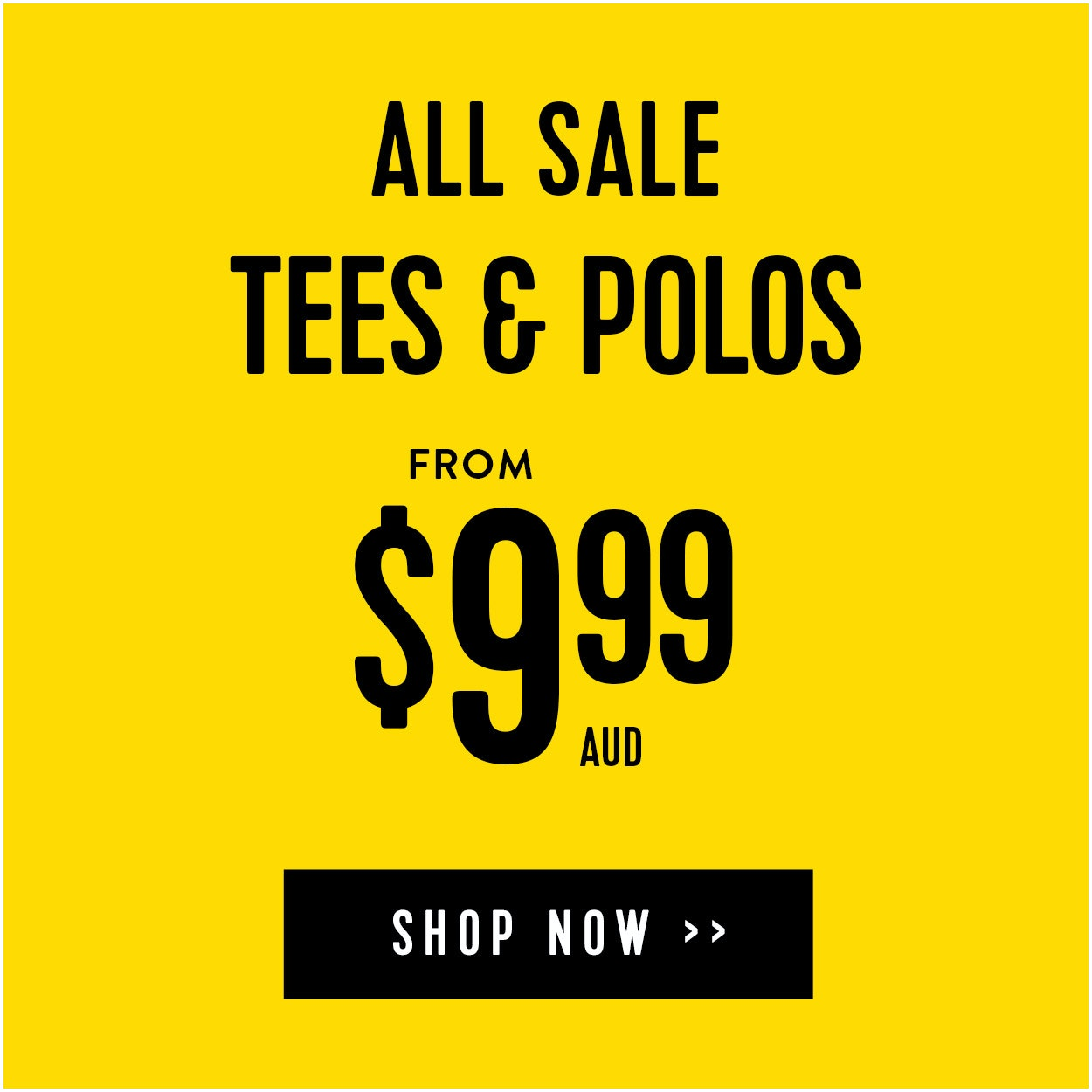 Sale Tees and Polos