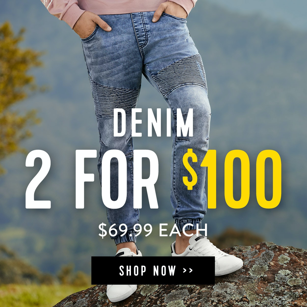 2 For $100 Chinos and Denim