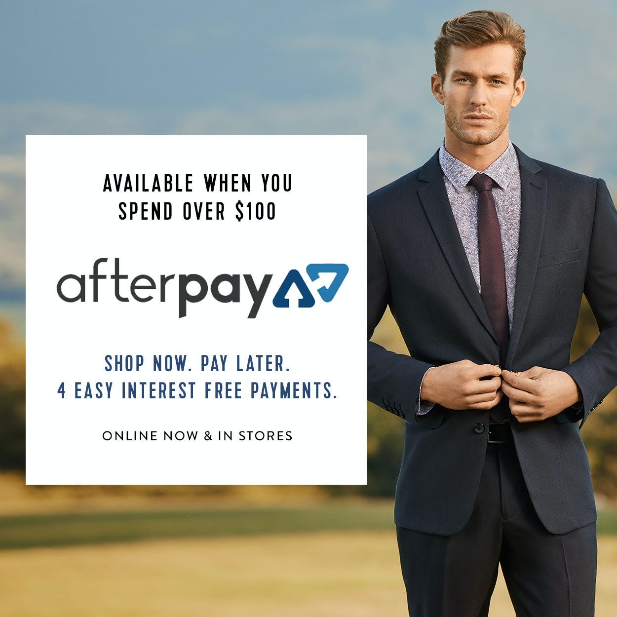 """Afterpay,"
