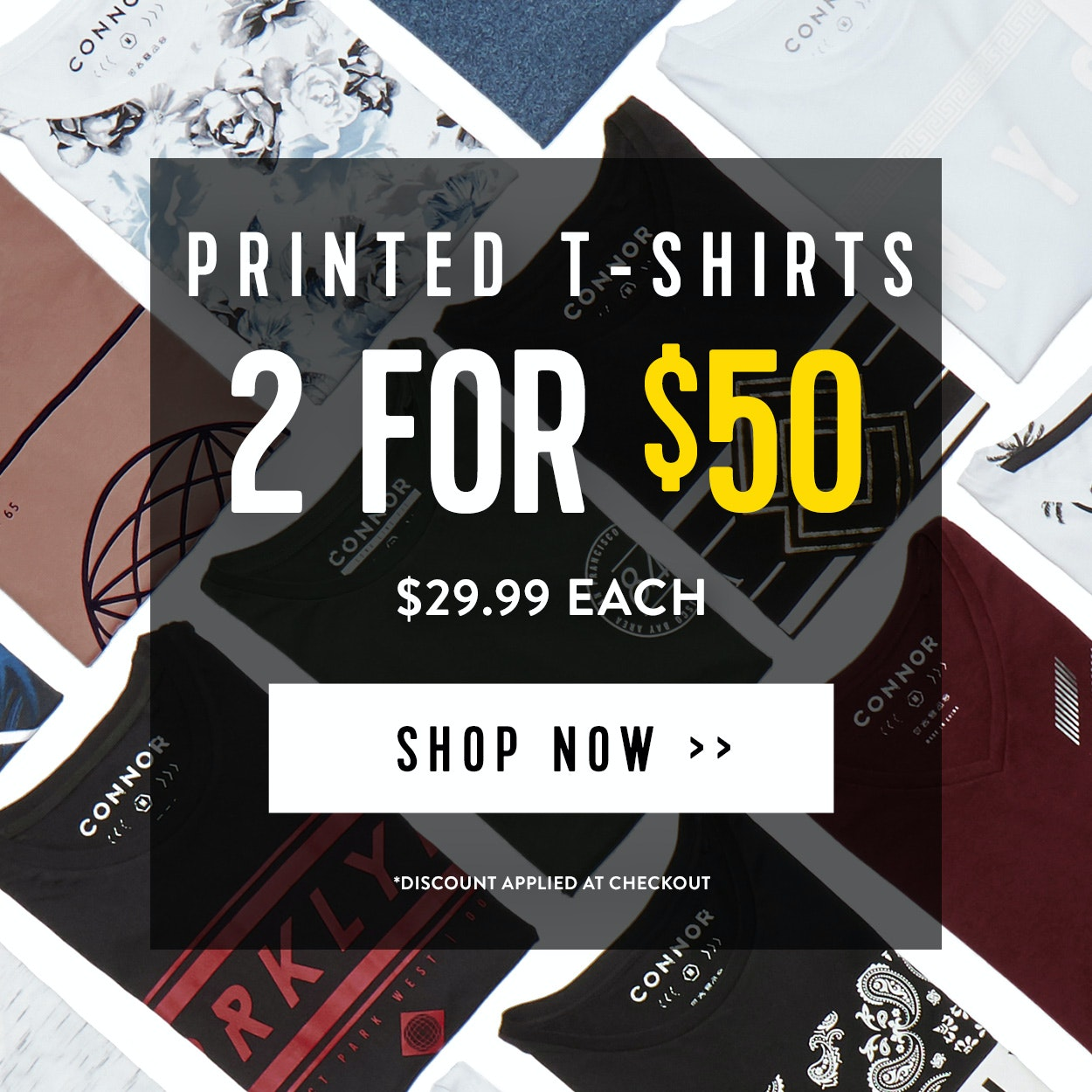 2 for 50 T-Shirts