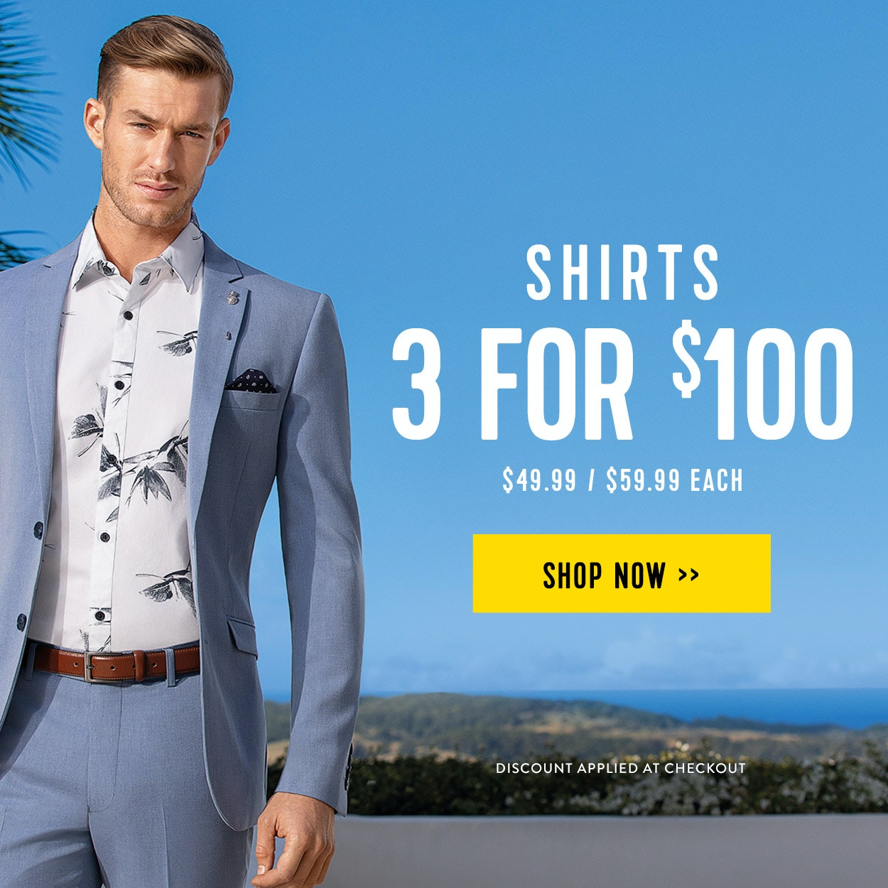 Shirt 3 for $100