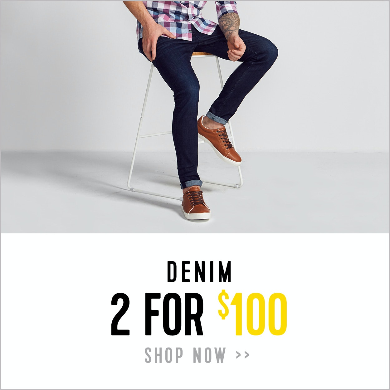 Denim Jeans - 2 for $100