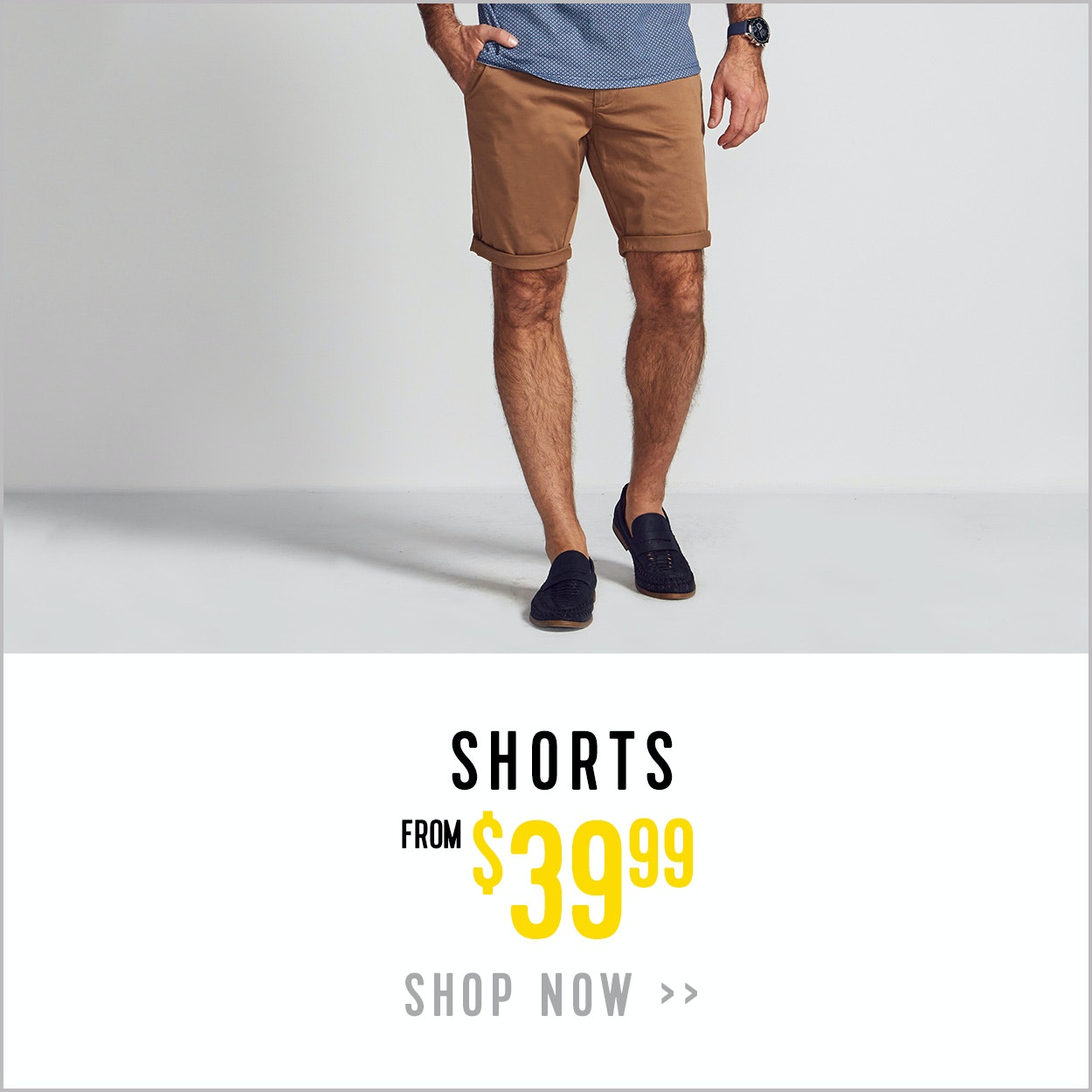 Mens Shorts from $49.99