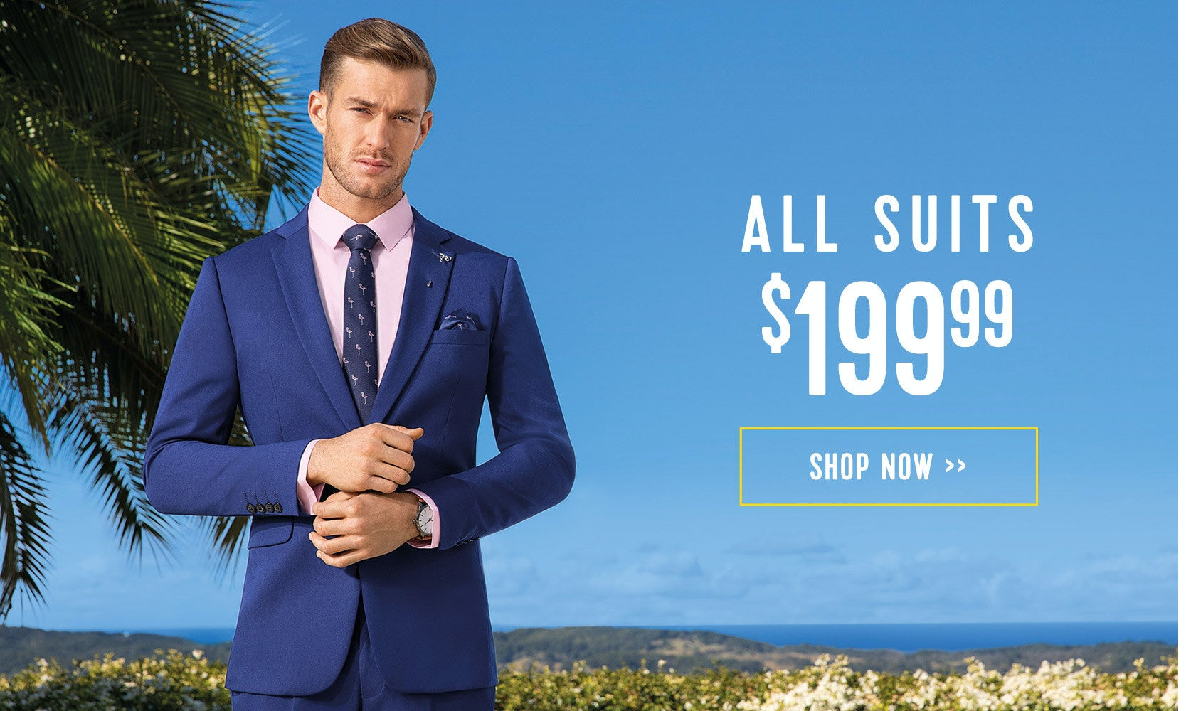 All Suits now $199.99