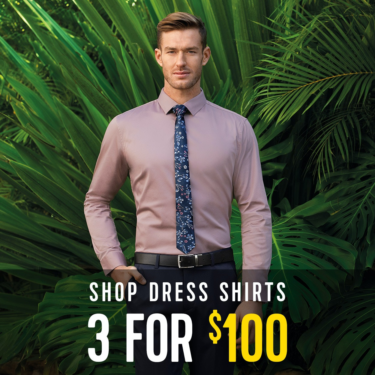 Mens Dress Shirts - 3 for $100