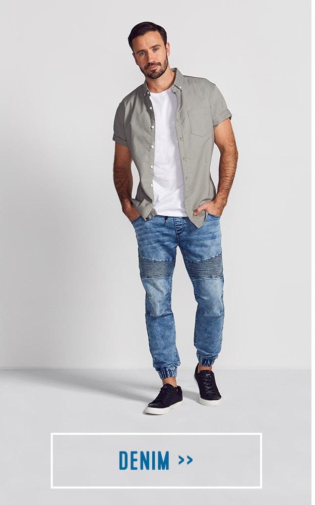 Shop our Mens Denim Jeans