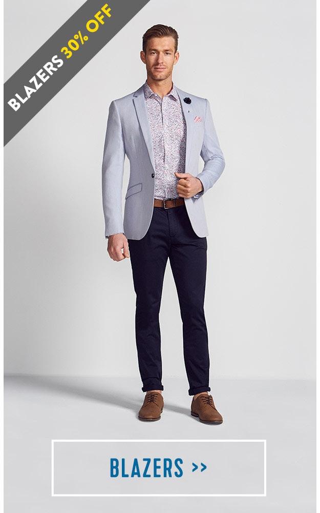 Shop our Mens Smart Casual Blazers