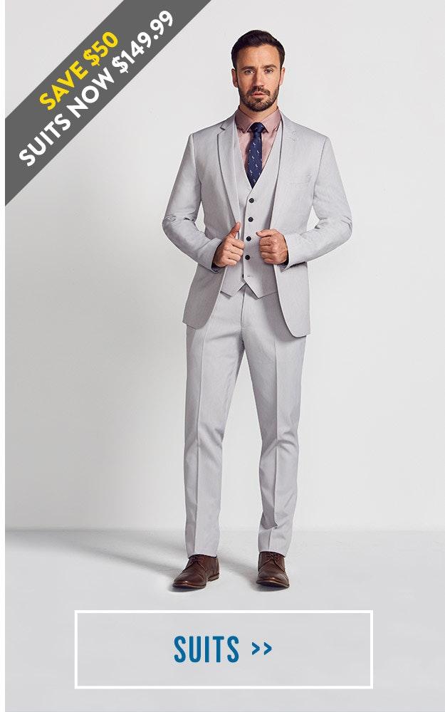 Shop our Mens Affordable Suits