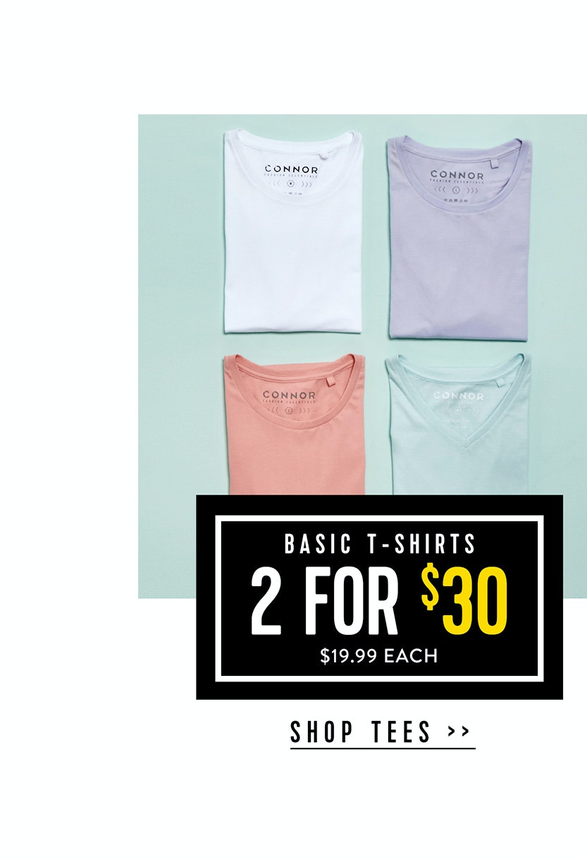 Shop Menswear Sale T-shirts at Connor