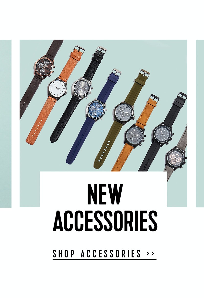 Shop the latest Menswear Accessories at Connor
