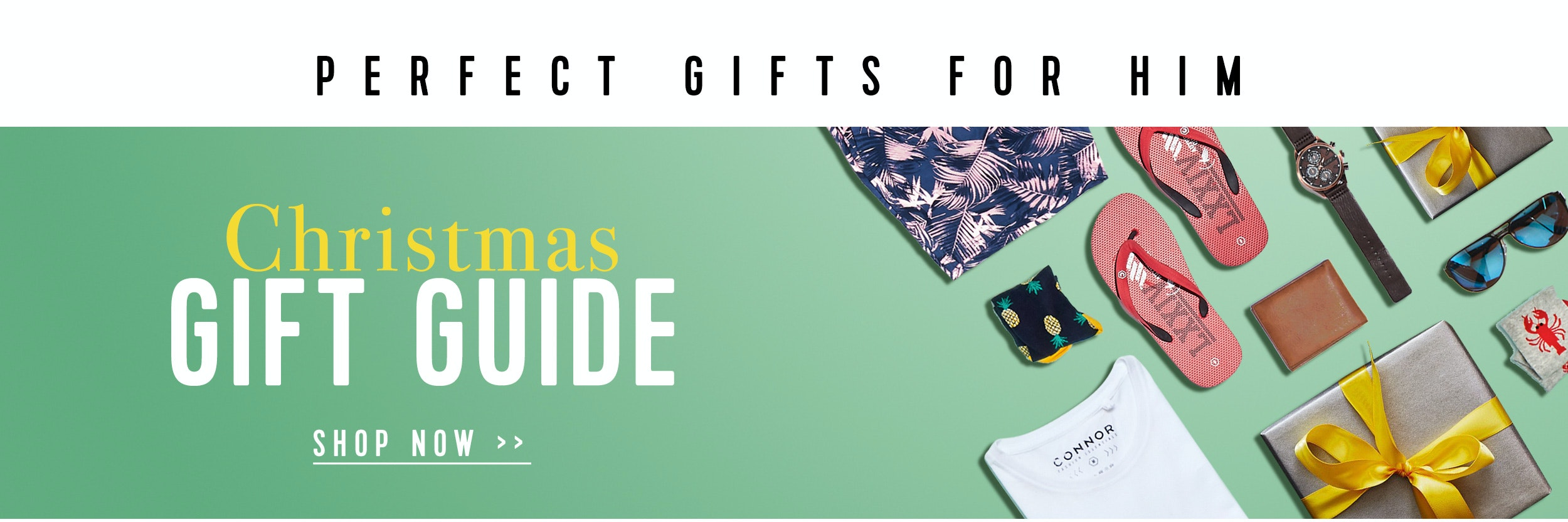 Shop Menswear Gift Guide at Connor