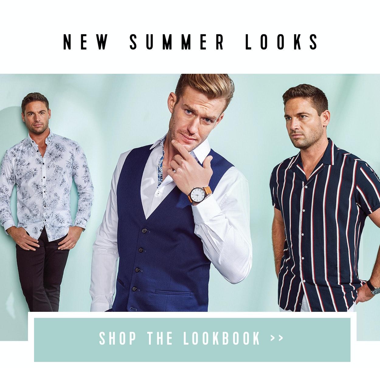 Shop Menswear Lookbook at Connor
