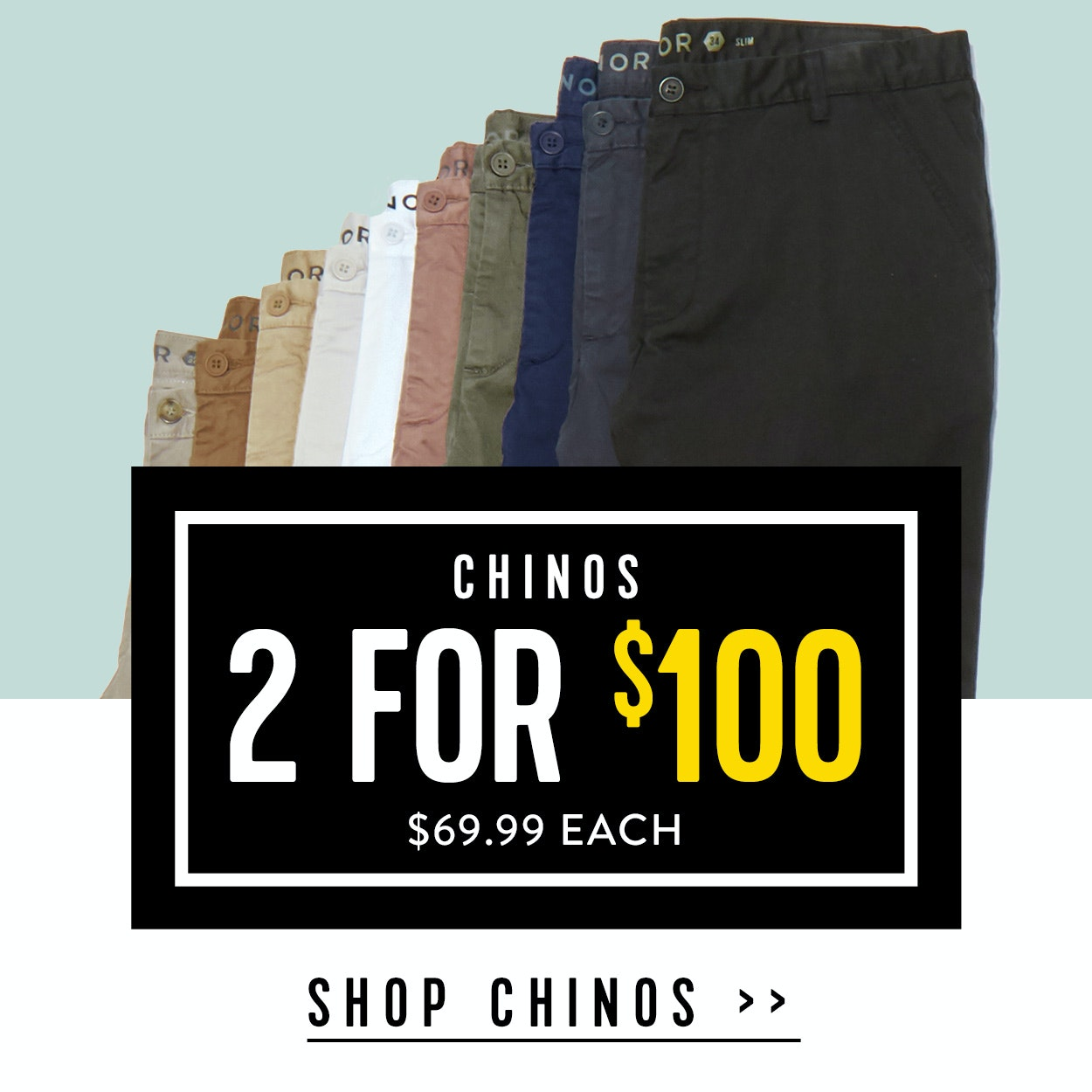Shop Menswear Sale Chinos at Connor