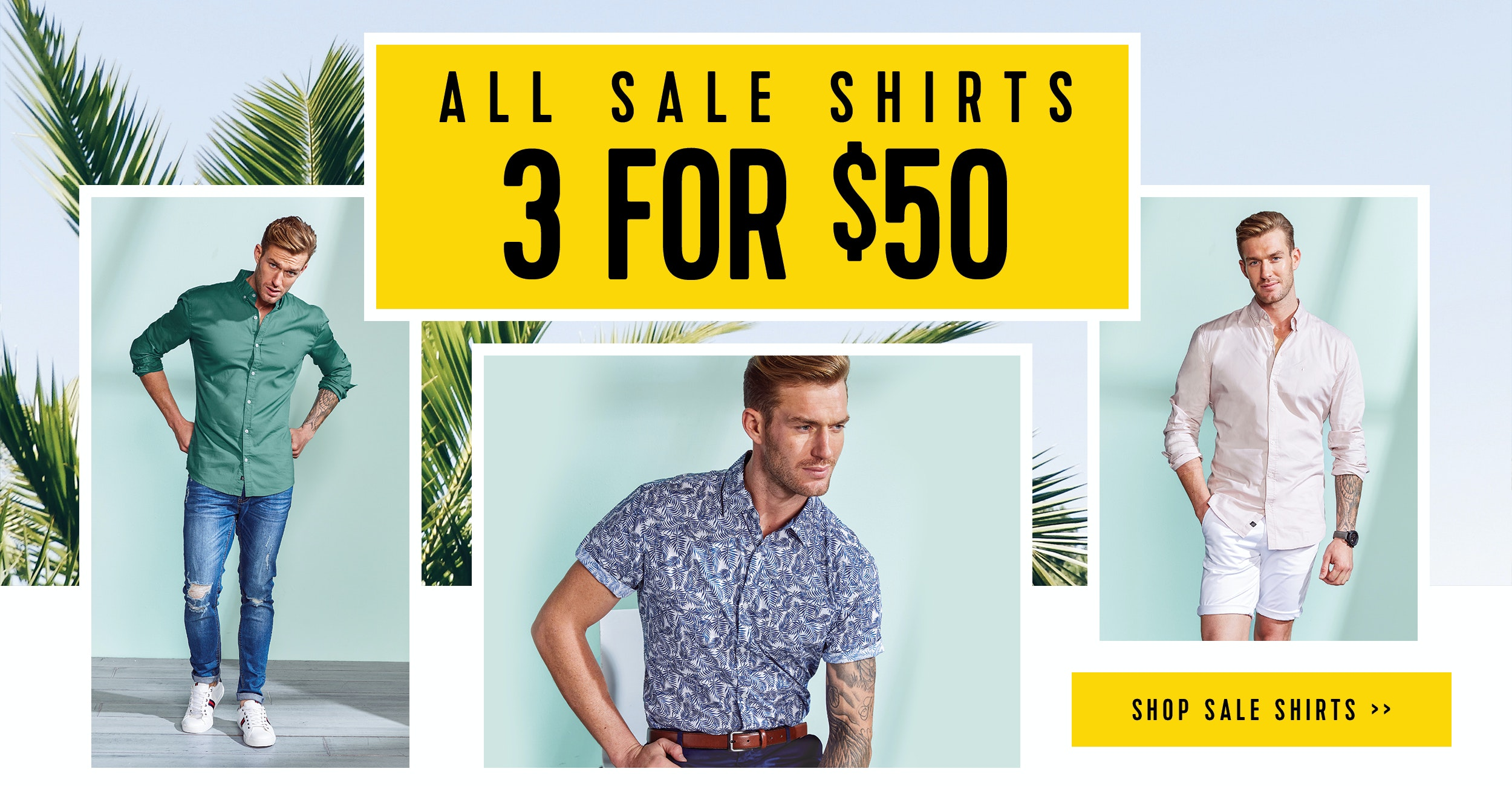 Connor Menswear Shirts Now On Sale
