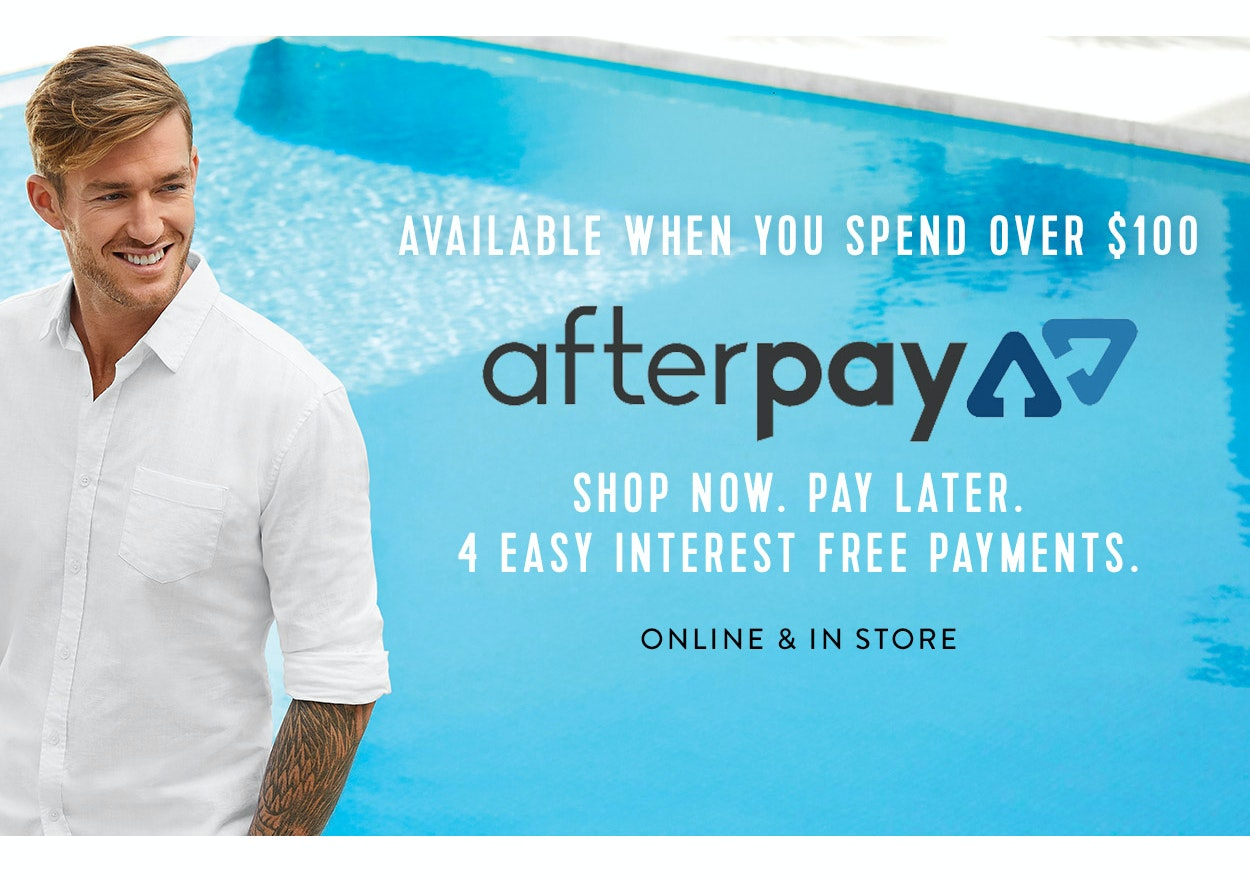 Shop Connor with Afterpay