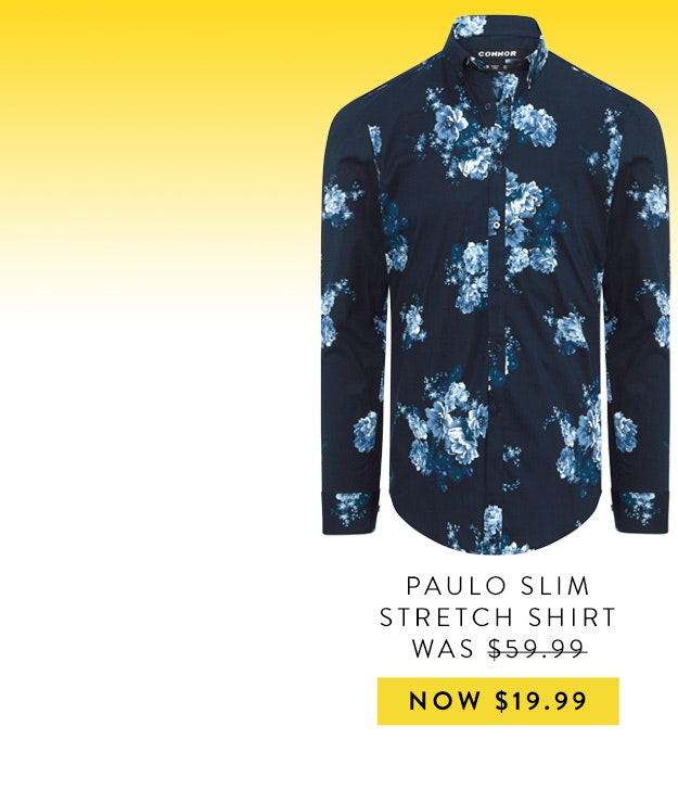 Connor Paulo Slim Shirt