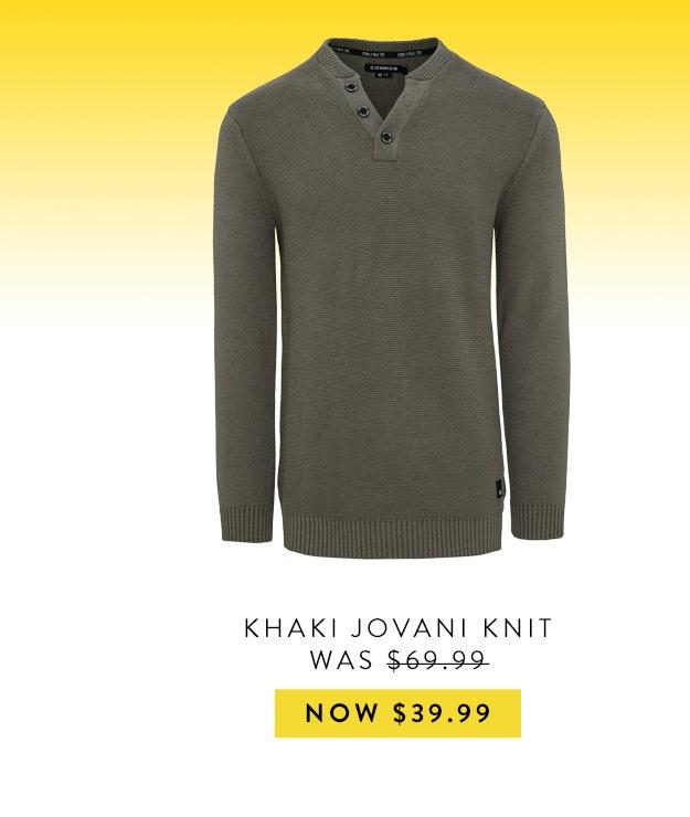 Connor Jovani Knit