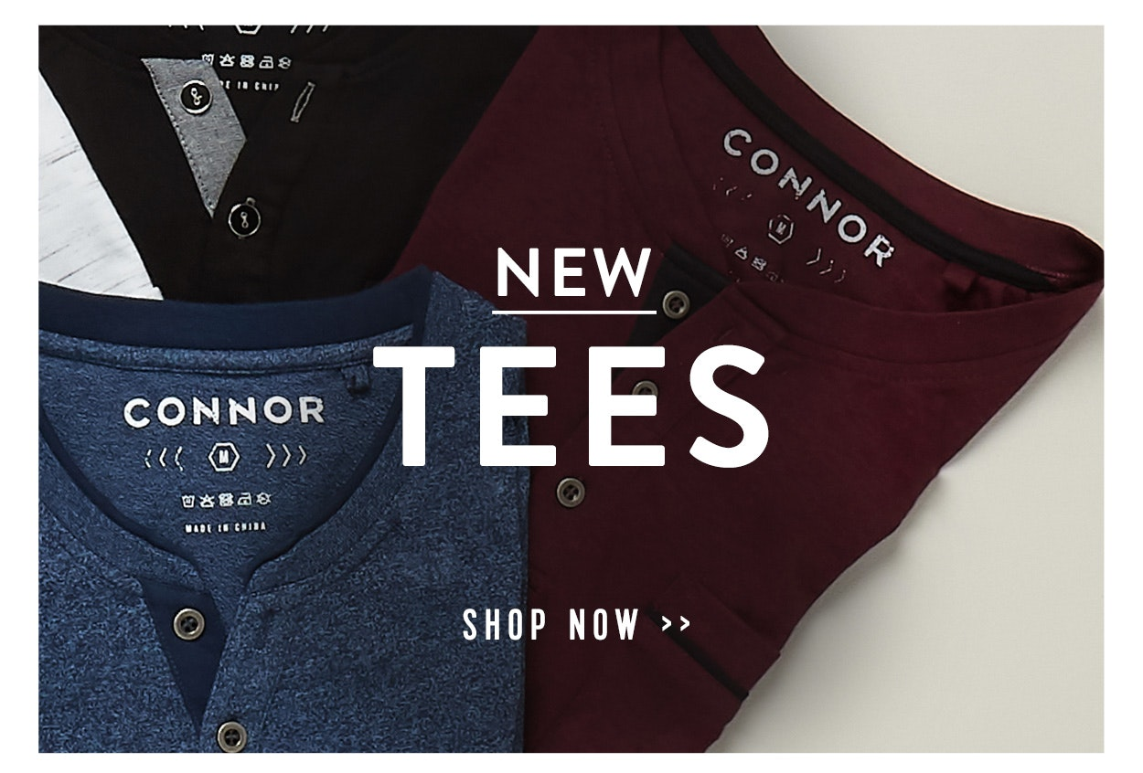 Connor Menswear New Season
