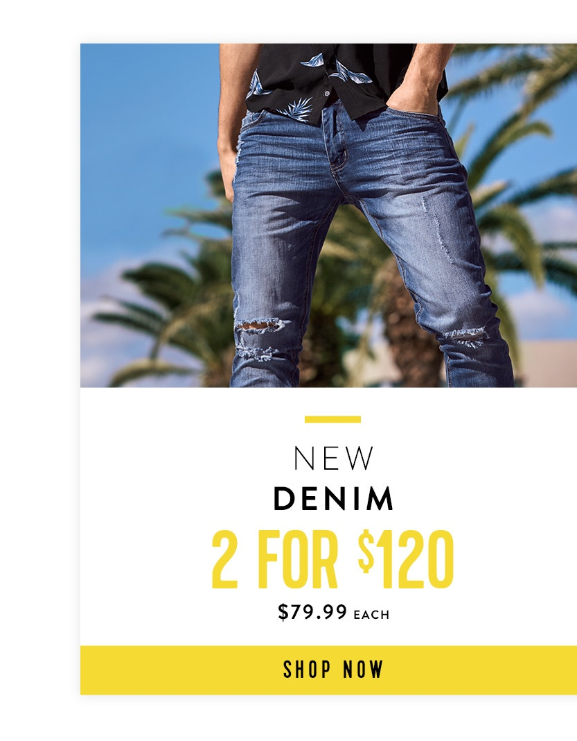Shop New Denim