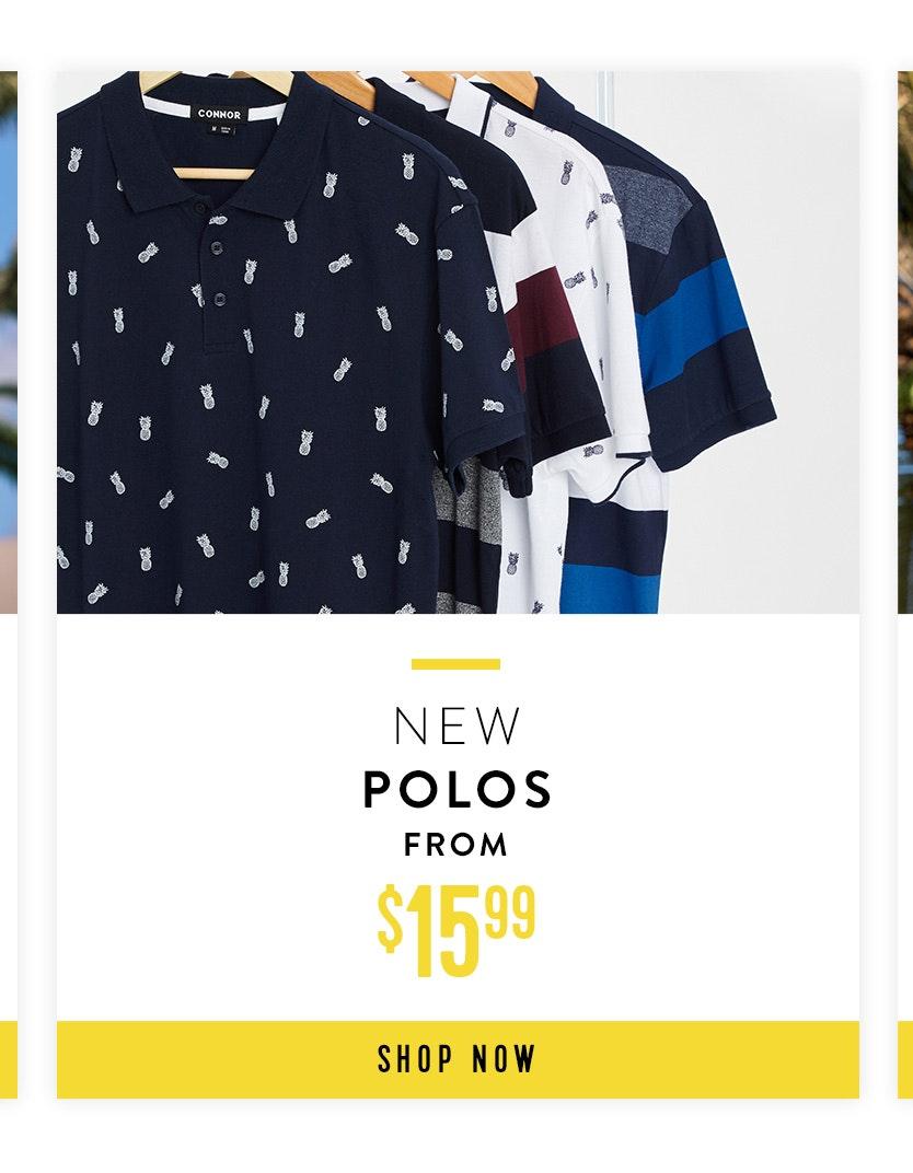 Shop New Polos