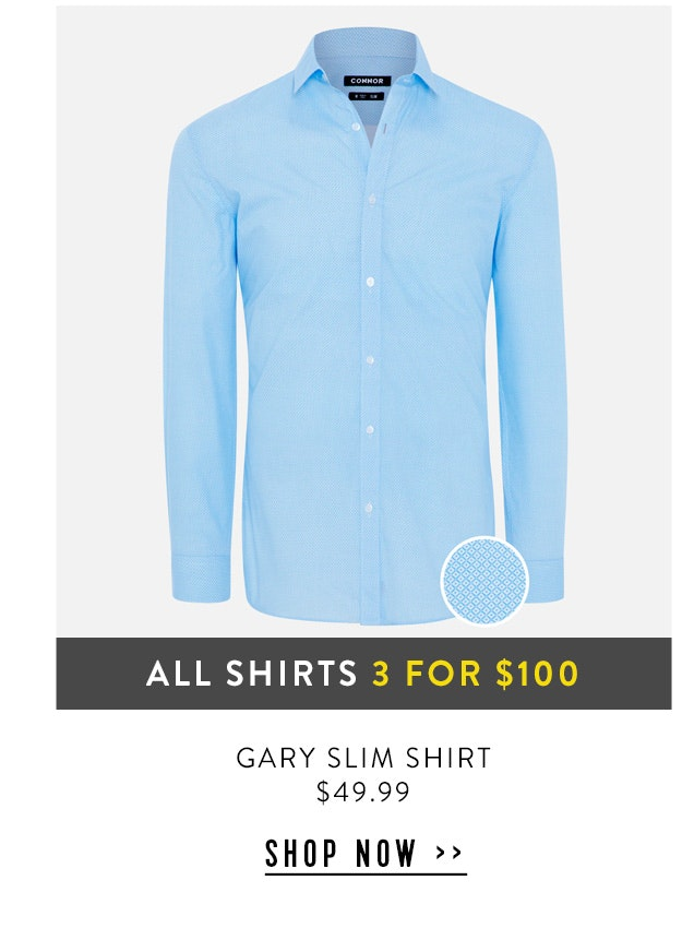 Shop Gary Slim Shirt