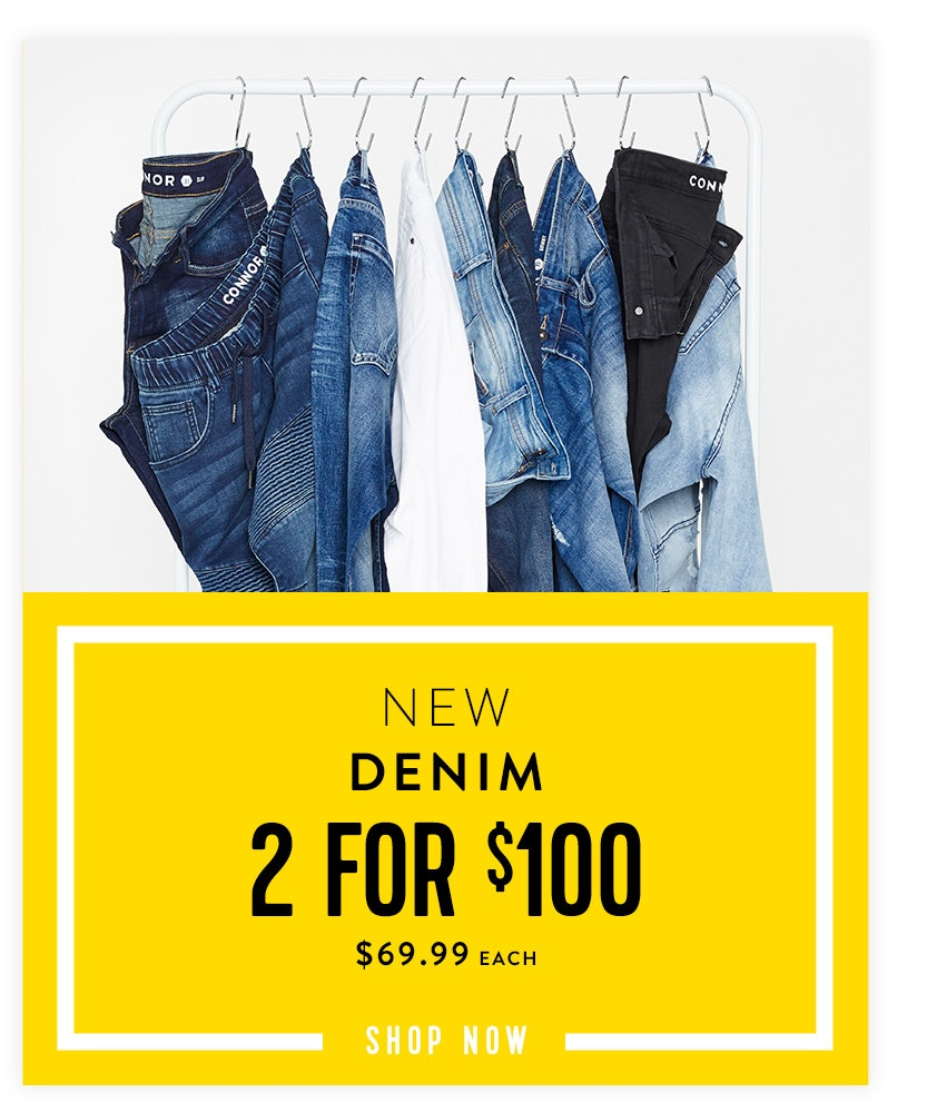 Shop New Denim