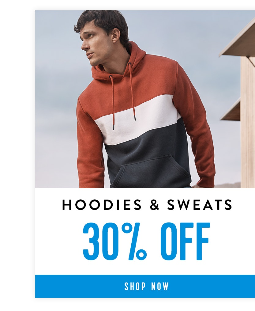 Shop Hoodies & Sweats 30% off