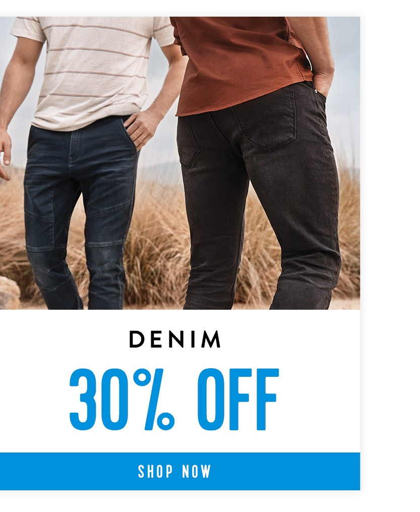 Shop Denim 30% off