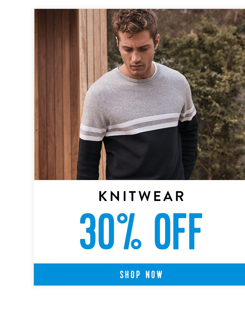 Shop Knitwear 30% off