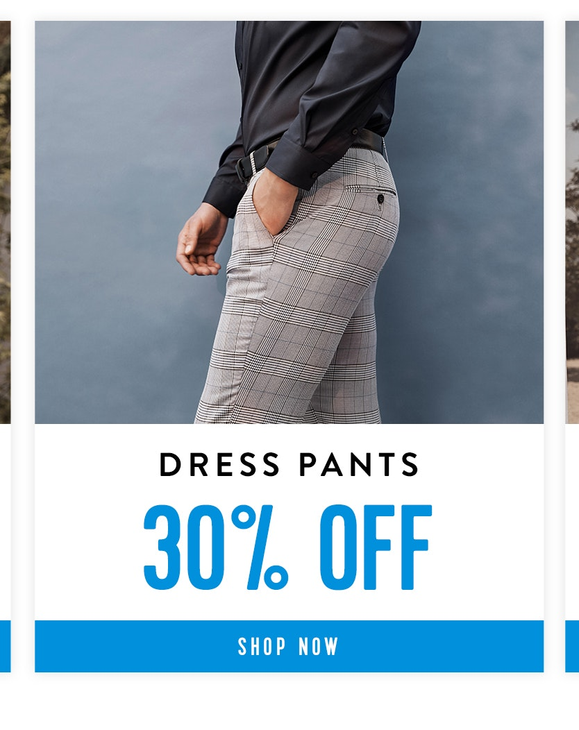 Shop Dress Pants 30% off