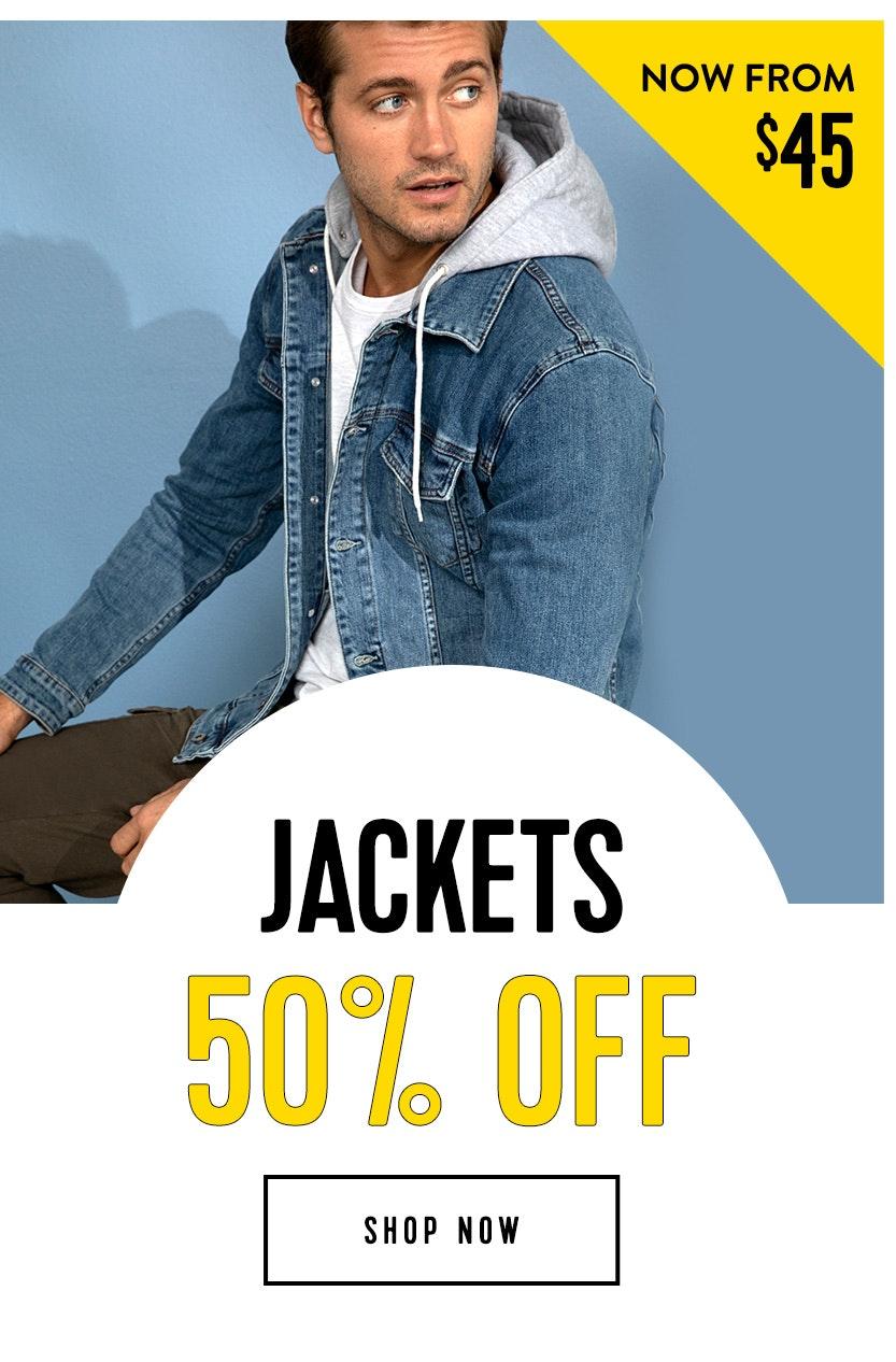 Shop 50% off Jackets