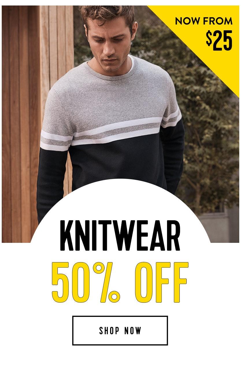 Shop Knitwear 50% off