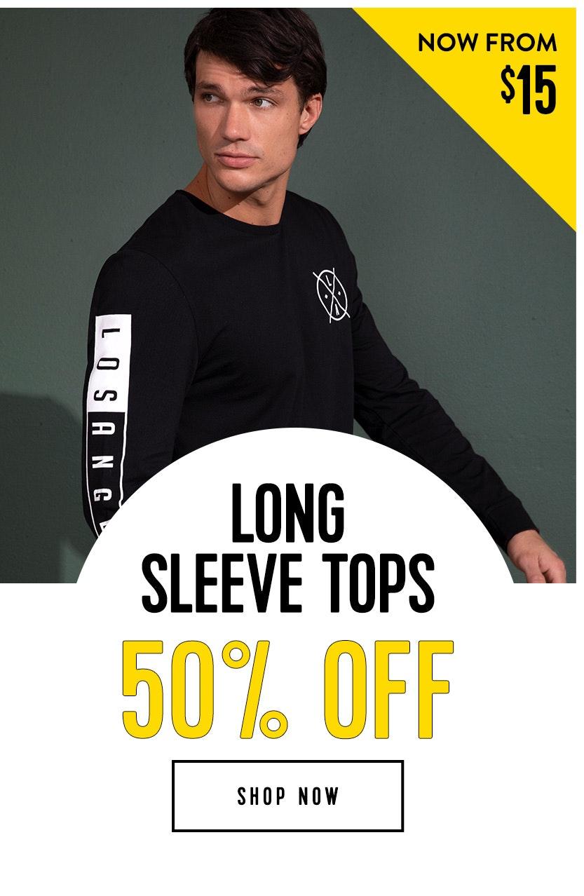 Shop Long Tops 50% off