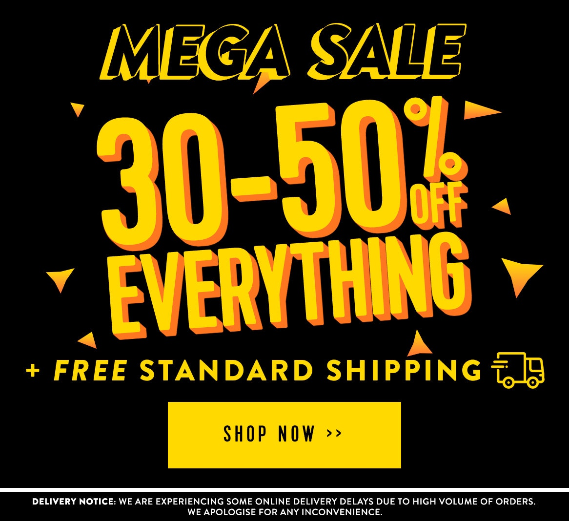 Shop 30-50% off everything