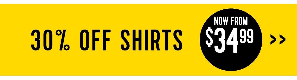 Shop 30% off shirts