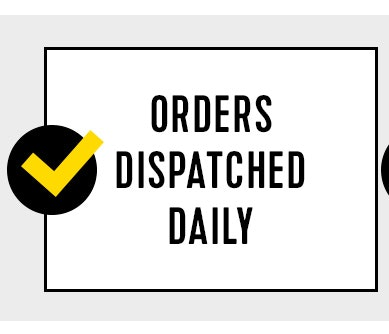 Orders dispatched daily