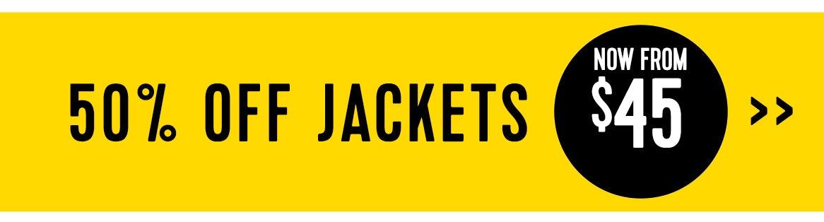 Shop 50% jackets