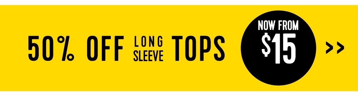 Shop 50% off long tops