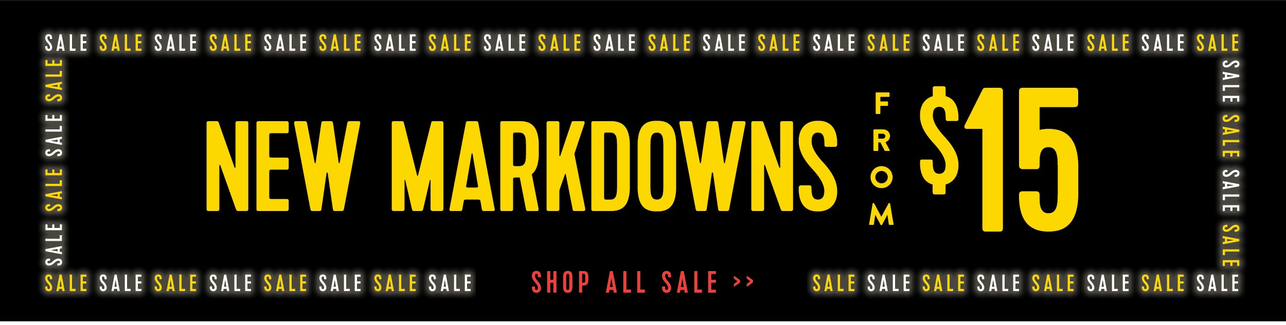 New markdowns from $15