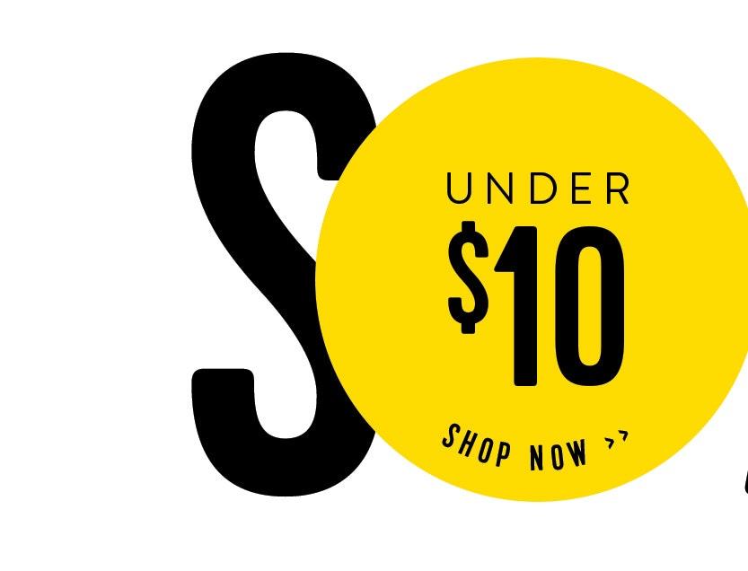 Shop Sale under $10