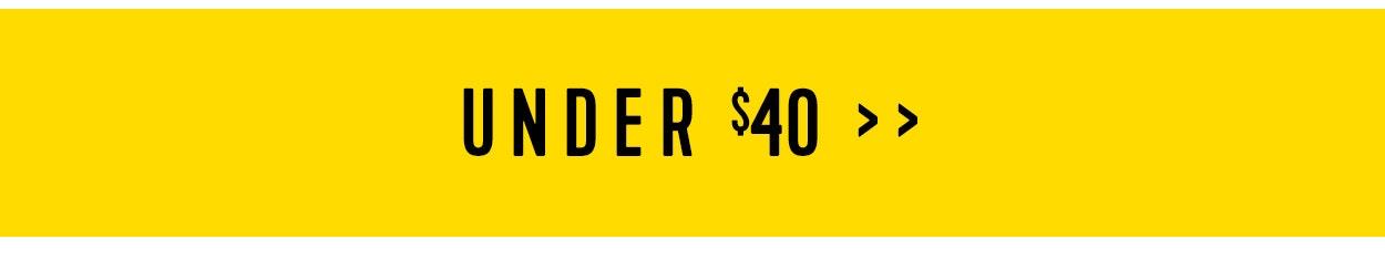 Shop sale under $40