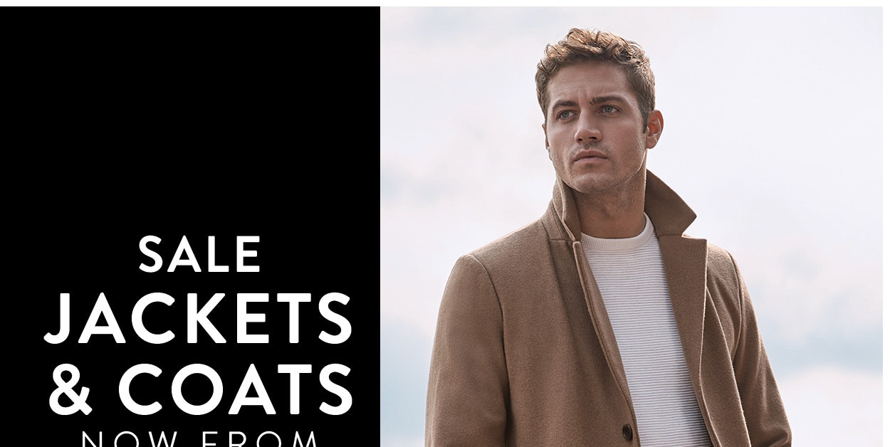 Sale jackets & coats now from $49.99