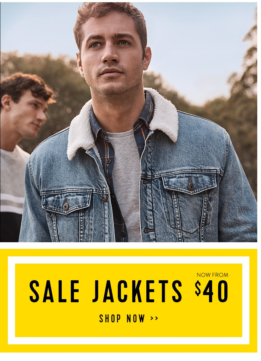 Sale Jackets from $40