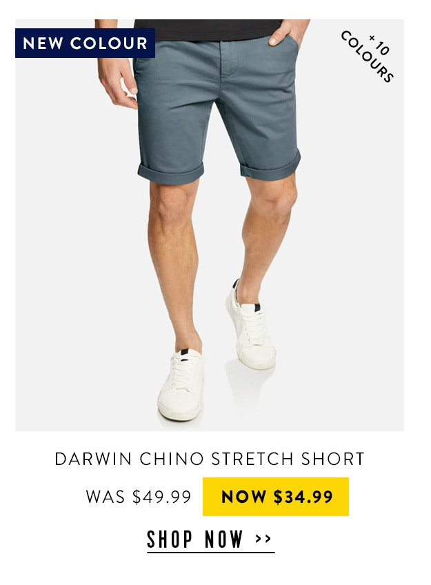 Darwin Chino Stretch Short