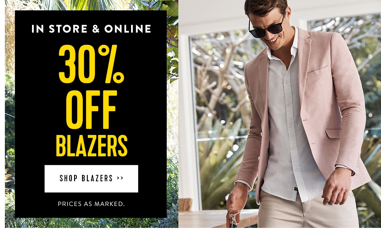 Blazers 30% off