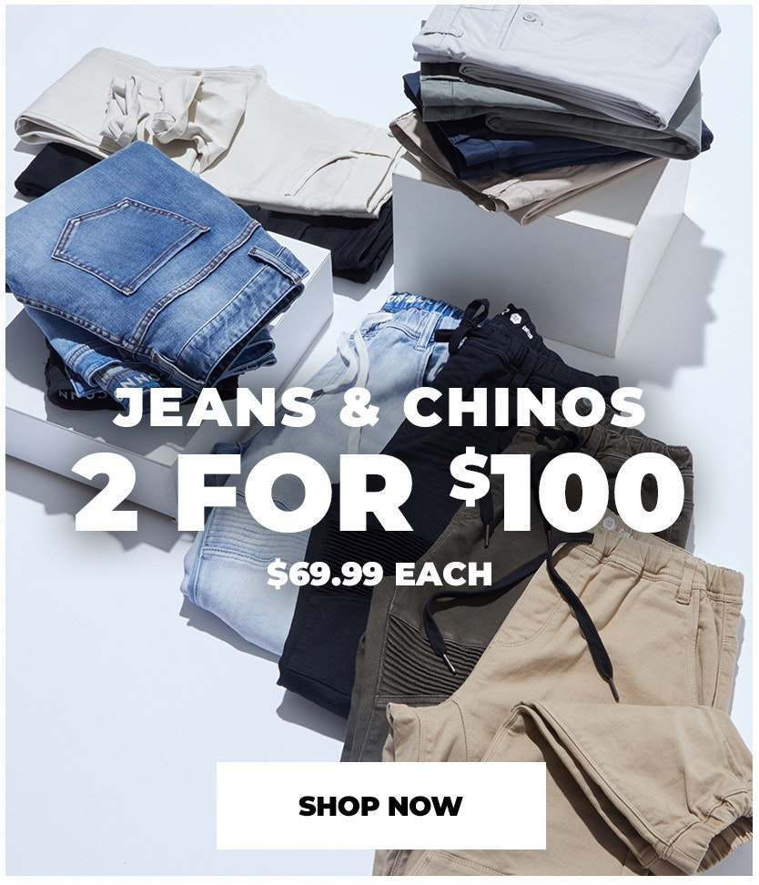 jeans & chinos